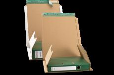 320x290x-80mm Ordnerverpackung braun O05.01