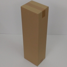 Faltkarton 210x160x720mm 2-wellig braun