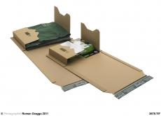 PP B02.23 Universal-Versandverpackung 886 x 644 x 80 mm zum Wickeln