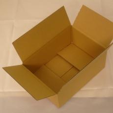 Faltkarton 250x165x80mm DHL-Päckchen Gr. S bis 2kg 1-wellig braun