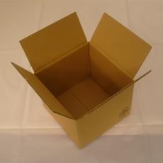 Faltkarton 290x290x280mm 2-wellig braun