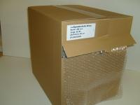 Luftpolsterfolie perforiert 28,5cmx50m im Kartonspender