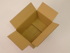 Faltkarton 220x155x120m 1-wellig braun