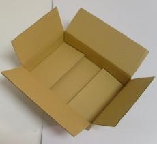 Faltkarton 310x220x60mm 1-wellig braun