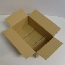 Faltkarton 355x220x140mm 1-wellig braun