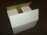 Faltkarton 250x200x140mm 2-wellig weiss