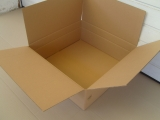 Faltkarton 540x540x200mm 2-wellig braun