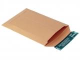 V04.01 Vollpapp-Versandtaschen braun 250x175x-32mm A5