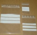 100x150mm 90my Druckverschlussbeutel mit Beschriftungsfeld
