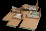 PP B52.02 Universal-Versandverpackung 217x155x-60mm ExtraSAFE