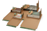 PP B52.04 Universal-Versandverpackung 249x165x-65mm ExtraSAFE