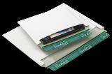 V07.01 Vollpapp-Versandtaschen quer weiss 225x160mm