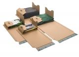 B02.17 Universal-Versandverpackung 378 x 295 x -80 mm zum Wickeln