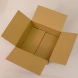 Faltkarton 292x292x135mm (Postmass: 300x300x150mm) 1-wellig braun