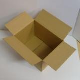 Faltkarton 390x290x220-300mm 1-wellig braun