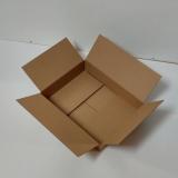 Faltkarton 400x300x75mm 1-wellig braun