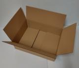 Faltkarton 495x370x100-145mm 1-wellig braun