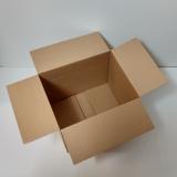 Faltkarton 500x400x300-400mm 1-wellig braun