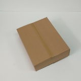 Faltkarton 605x450x100-145mm 1-wellig braun