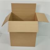 Faltkarton 605x450x580-725mm 1-wellig bis 40kg braun