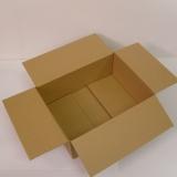 Faltkarton 400x300x100-150mm 1-wellig braun